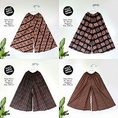 Kulot Batik Sogan Katun