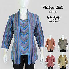 Model Baju Batik Lurik Wanita Terbaru Model Batik 2019