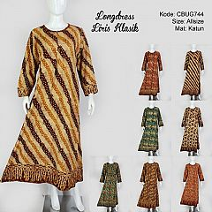 Longdres Batik iris Klasik