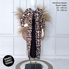Longdress Batik Cardigan Ploi Entik