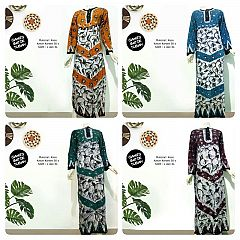 Longdress Batik Kaos Batik Cap Tuban
