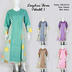 Longdress Warna Pokadot 2
