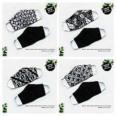 Masker Batik 2 layer Bolak Balik Ayodia