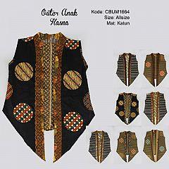 Outer Batik Anak Hasna