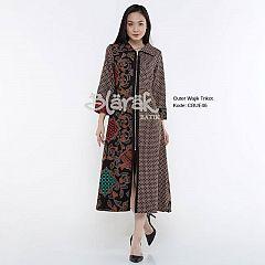 Outer Batik Blarak Lapis Trikot