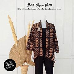 Outer Batik Katun Sogan Klasik