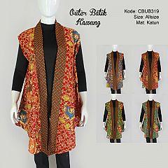Outer Batik Kawung Warna