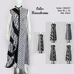 Outer Batik Monochrome Etnik