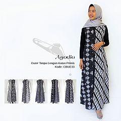 Outer Batik Panjang Ayodia Monochrome
