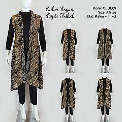 Outer Batik Baju Batik Gamis Batik Batik Murah Model Batik