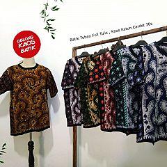 Pblong Kaos Batik Pantura Full Tulis