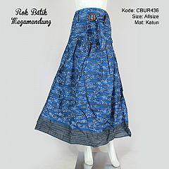 Rok Batik Panjang Motif Mega Tumpal