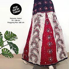 Rok Batik Tulis Tuban Klok Karet Cantik