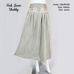 Rok Jeans Shabby Abu