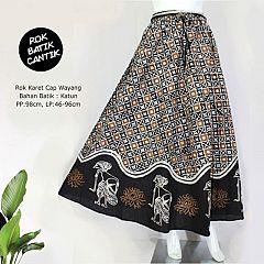 Rok Karet Cap Wayang