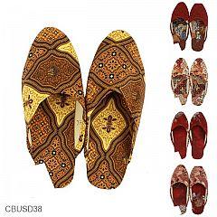 Sandal Selop Batik Motif Yogyakarta
