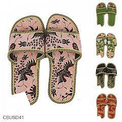 Sandal Selop Batik Motif Komtemporer Unik