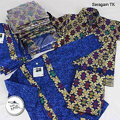 Seragam Songket Kutubaru Anak Muslim Perempuan (2)