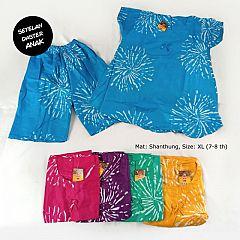 Setelan Celana Babydoll anak Size XL