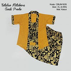 Setelan Dress Kutubaru Pendek Bunga Prodo