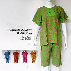Setelan Gogo Babydoll Batik Cap Warna