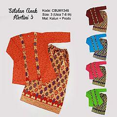 Setelan Kartini Kutubaru Anak Batik Songket Prodo (3)