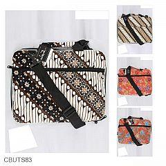 Tas Batik Laptop Kantong Tali Motif Batik Dua Jaman 14 inchi
