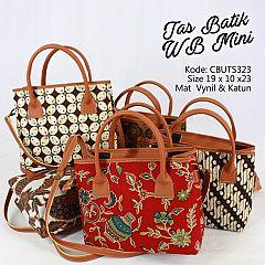 Tas Batik WB Mini Motif Batik Klasik