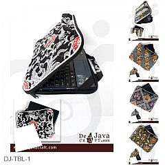 Tas Laptop Batik Motif Batik Bola MU ( 14 Inchi )
