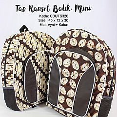 Tas Ransel Batik Mini Motif Batik Klasik
