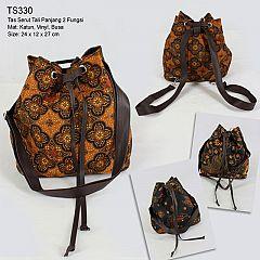 Tas Serut Batik Ransel Tali Panjang