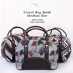 Tas Travel Batik Klasik Size Medium