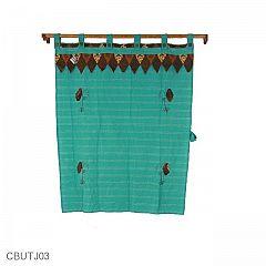 Tirai Jendela Pekalongan Motif Kupu Kupu Batik