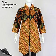 Tunik Batik Alusan Trikot Ritz Motif Klasik Seling