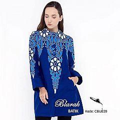 Tunik Batik Blarak AHY Biru