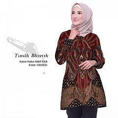 Tunik Batik Blarak Motif Sisik