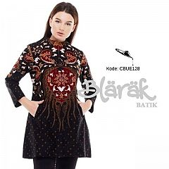 Tunik Batik Blarak Motif Seno Menggah