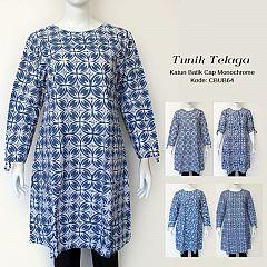 Tunik Batik Cap Telaga Biru