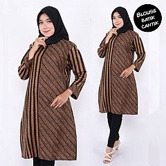 Tunik Batik Motif Parang Garis Batari