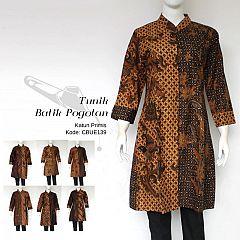 Tunik Batik Pogotan Pagi Sore