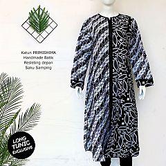 (Free Masker) Tunik Batik Ritz Seling Ayodia