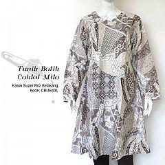 Tunik Batik Soft Motif Tulis Milo