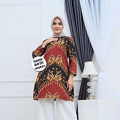 Tunik Batik Terbaru Motif Cantik