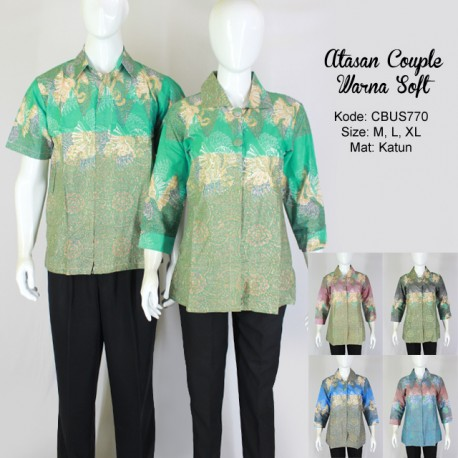 Atasan Couple Warna Soft