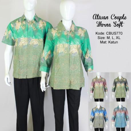 Atasan Couple Warna Soft