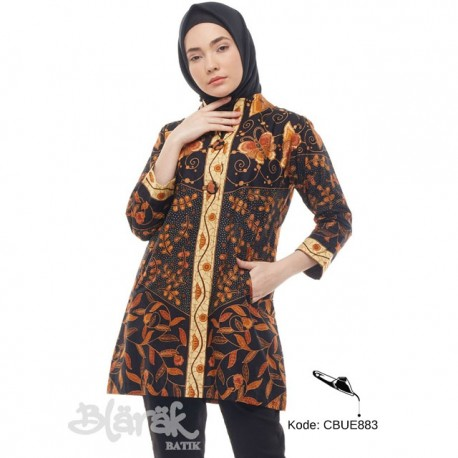 Atasan Wanita Tunik Batik Blarak 9016