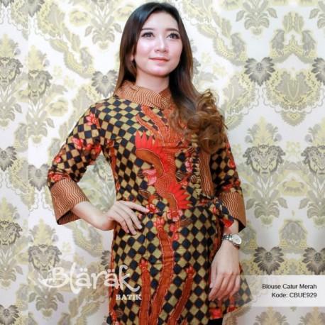 Atasan Wanita Tunik Batik Blarak 8036