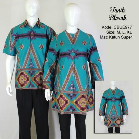 Atasan Wanita Tunik Batik Blarak 9031