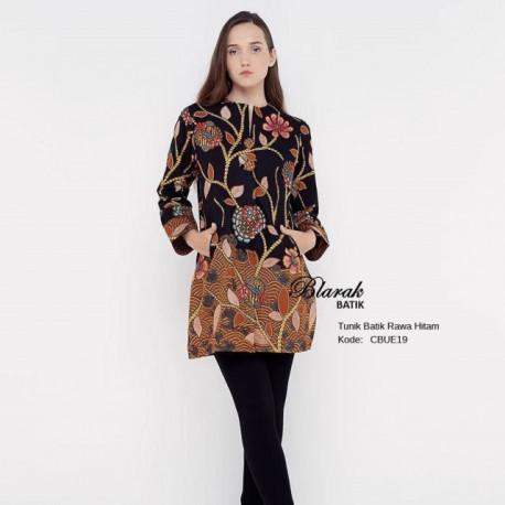 Atasan Wanita Tunik Batik Blarak 9051