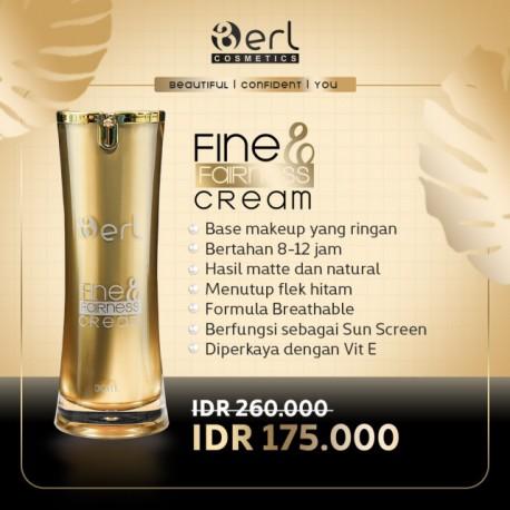 B erl Fine and Fairness Cream